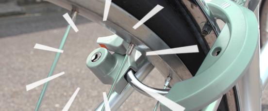 自転車の鍵紛失!お金がかか・・の画像