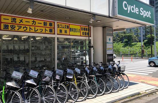 自転車屋が近くにあれば・・の画像