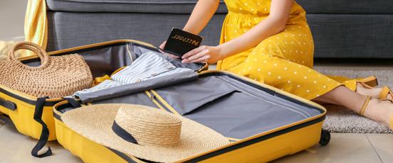 出発前日スーツケース開いた・・の画像