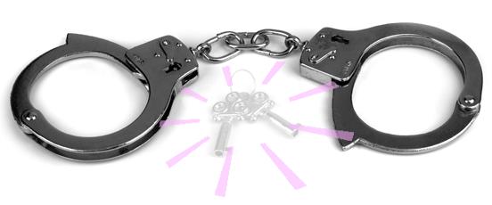 手錠の鍵を紛失したとき大ご・・の画像